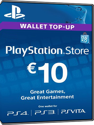 carte psn 10 euros Buy PSN Card, 10 Euro DE, Playstation Network   MMOGA