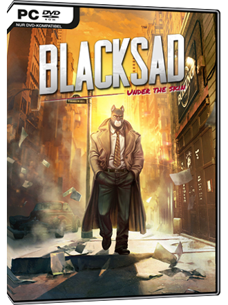 Blacksad - Under the Skin Screenshot